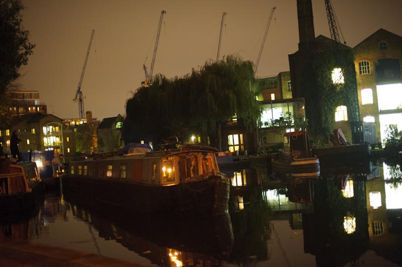 Kanał, Londyn