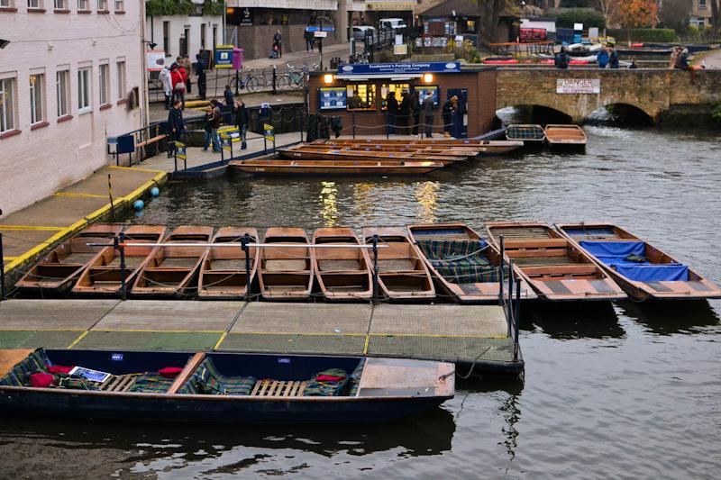 Cambridge łodzie