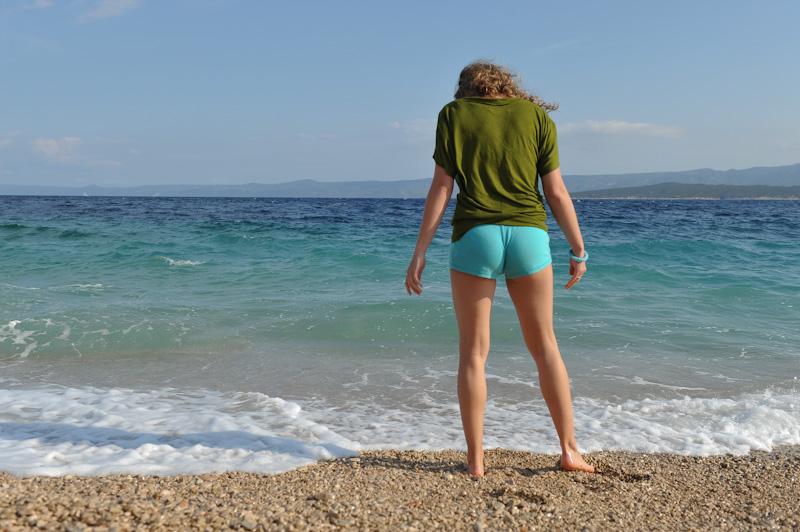 Wakacje w Chorwacji, żona