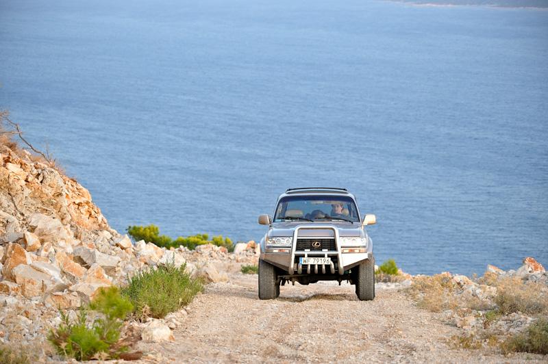 Wspinaczka pod górę, 4x4, Land Cruiser, wycieczki rodzinne