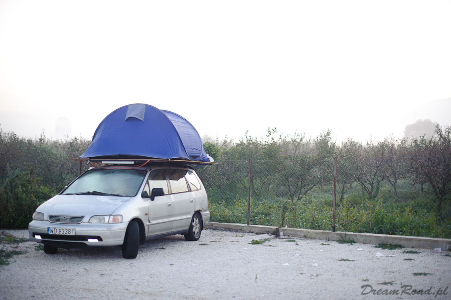 Rooftop tent, namiot dachowy