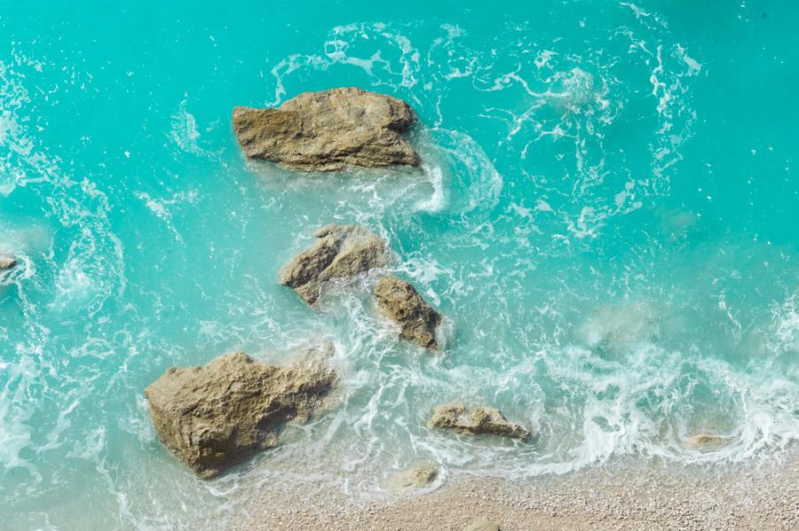 błęktine morze Grecja