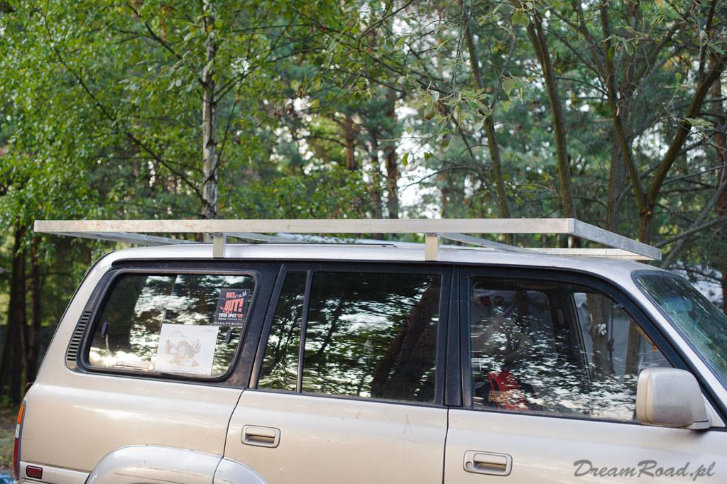 Namiot dachowy Toyota