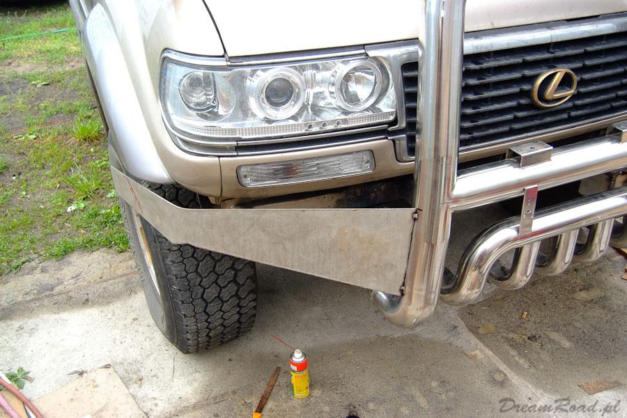 Zderzak Toyota Land Cruiser