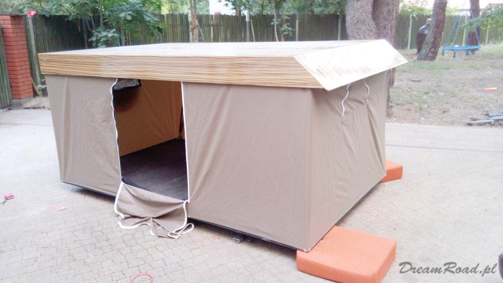 Lexus namiot na dach