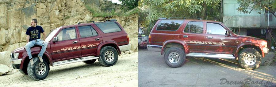 Toyota 4Runner blog podrozniczy
