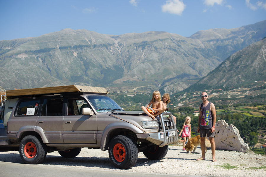 przełęcz Ilogara albania